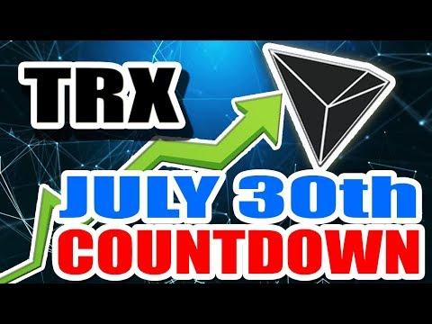 Tron (TRX) Secret Announcement Countdown and Tron News
