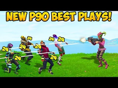*NEW* RARE P90 SMG BEST PLAYS! – Fortnite Funny Fails and WTF Moments! #267 (Daily Moments)