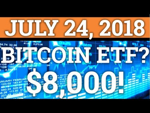 BITCOIN ETF POSTPONED? BTC OVER $8,000! WILL IT LAST? PRICE + CRYPTOCURRENCY NEWS 2018