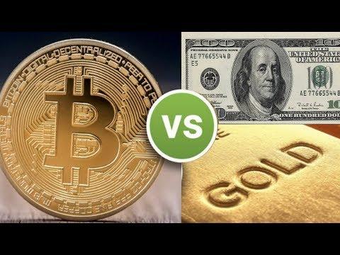 Bitcoin Digital Gold vs Gold and U.S. Dollar – Why Bitcoin Will Win!