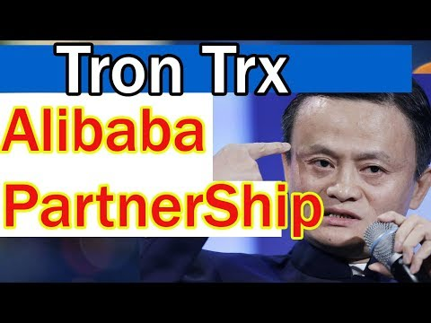 Tron trx Partnership with Alibaba! Best Investment at $10?