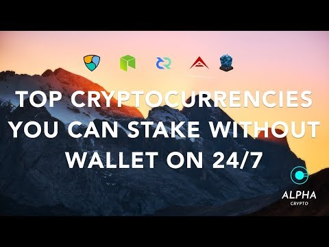 Top  CryptoCurrencies that earn interest and require no wallet to be open 247 – passive income