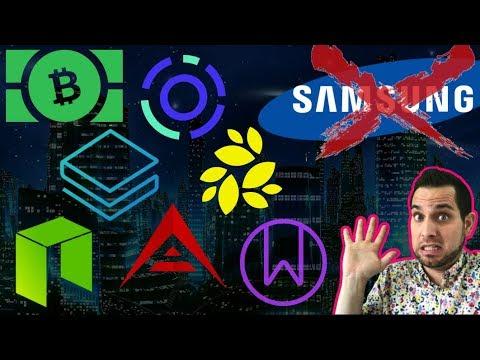 $BCH Threatens Exchanges? Coinbase Giftcards   Samsung Denies Rumors   Binance Community Vote