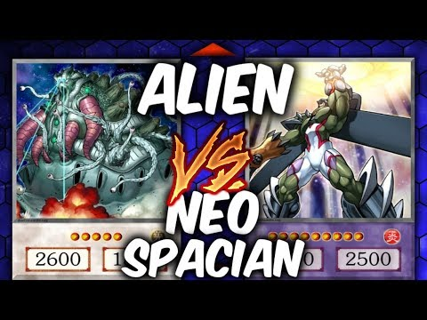 ALIEN INVASION! Yugioh NEO-SPACIAN vs ALIENS (YU-GI-OH! Themed Decks)