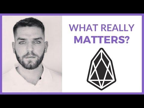 EOS (EOS) Usage | Bloks.io | What Really Matters?