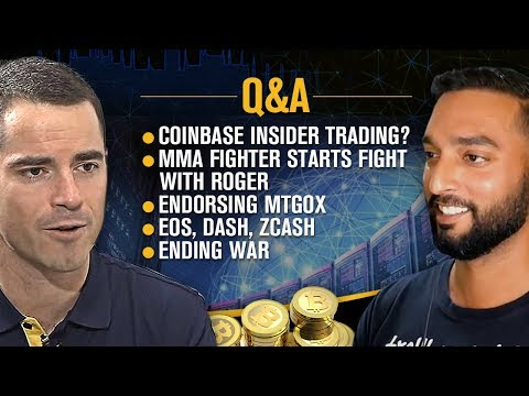 "Roger Ver Interviewed by Crypt0 ?- ""Bitcoin Jesus"" Answers Your Burning Questions ?"