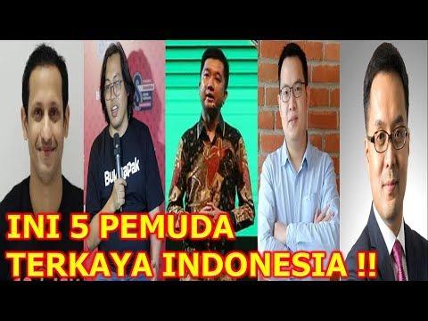 INI 5 Pemuda TERKAYA Di INDONESIA, Ada Bos GO-JEK Dan BUKALAPAK