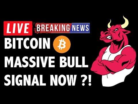 Massive Bull Signal on Bitcoin (BTC) Now?! – Crypto Trading Analysis & Cryptocurrency News