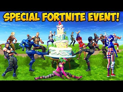 100 Players Celebrate Fortnite's Birthday! – Fortnite Funny Fails and WTF Moments! #268