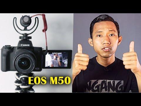 REVIEW CANON EOS M50 ~ KAMERA TERBAIK YOUTUBER