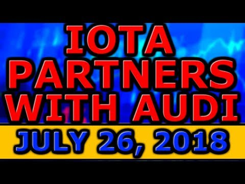 IOTA PARTNERS with AUDI! NEW Voyager COMMISSION FREE Crypto EXCHANGE! MetaMask PHISHING SCAM!