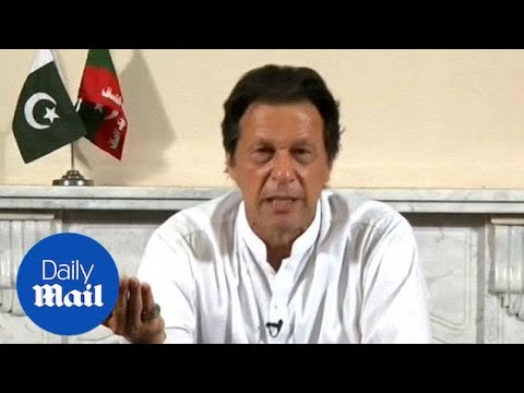Imran Khan addresses the nation on verge of winning election – Daily Mail