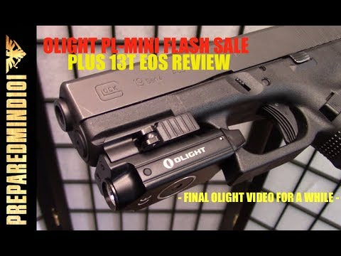 Olight PL-Mini (40% off)+ I3T Eos AAA EDC – Preparedmind101