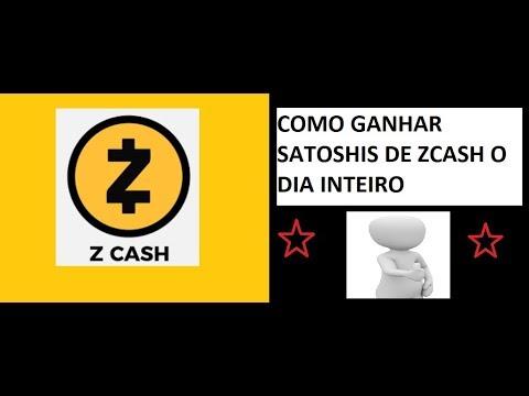 COMO GANHAR SATOSHIS DE ZCASH O DIA INTEIRO