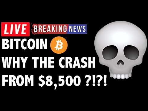 Why Did Bitcoin (BTC) Crash From 8.5K?! – Crypto Analysis & Cryptocurrency News