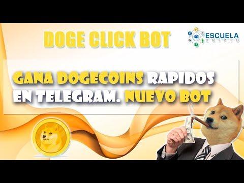 Doges Gratis │Doge Bot Click │Escuela Cripto