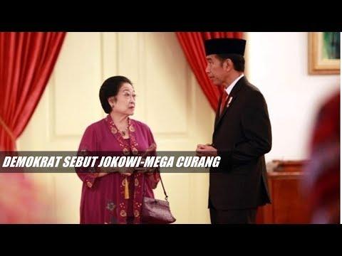 Demokrat Sebut Jokowi-Megawati Curang dan Sombong, Ada Apa?