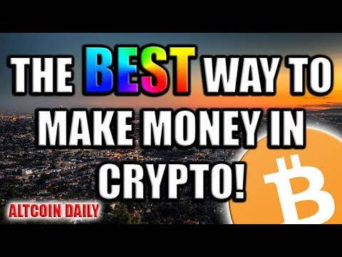 The BEST Way To Make Money in Crypto!! [Bitcoin/Altcoin/Cryptocurrency Trading Strategy]