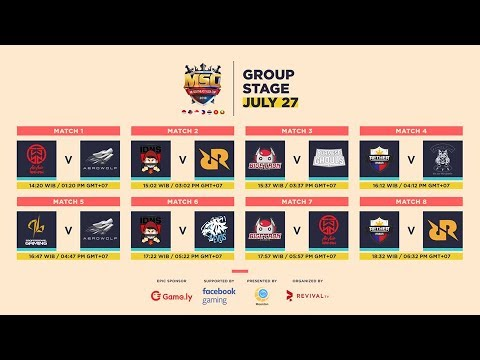 [LIVE] ML SOUTHEAST ASIA CUP 2018 DAY 1 | IDNS vs EVOS (ADA GIVEAWAY)