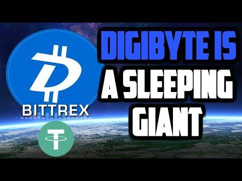 WHY DigiByte (DGB) Is a Sleeping GIANT! BITTREX Lists DigiByte USDT Trading Piar! DGB NEWS