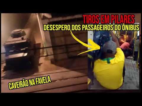 ?TIROTEIO NO MORRO DO URUBU ADA LEVA PÂNICO A PASSAGEIROS DE ÔNIBUS