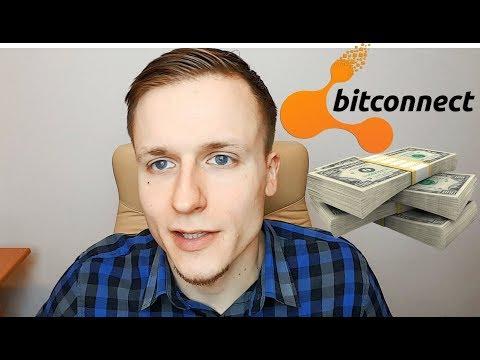 BITCONNECT – kaip uždirbti milijoną? Ar Bitconnect kriptovaliutos geriau už bitcoin?