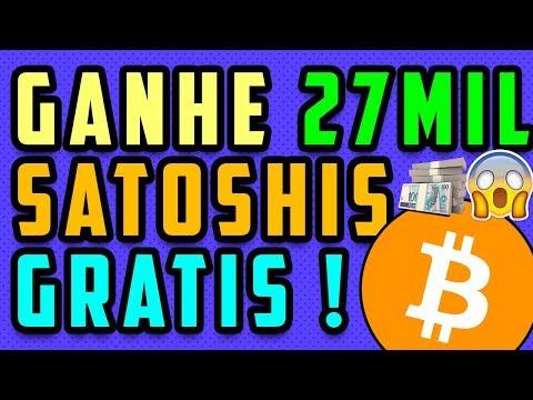 Nova Mineradora Dogecoin e Nova Mineradora BTC | 27 MIL SATOSHIS FREE !