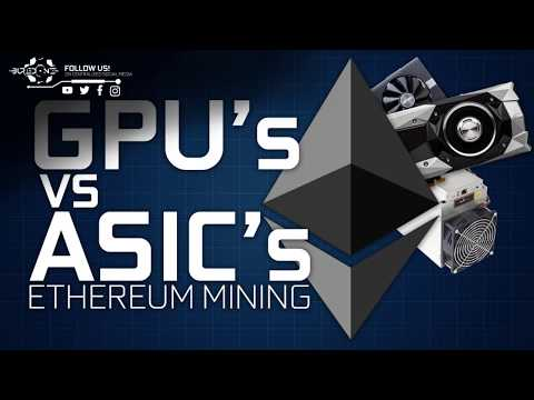 GPU vs A10 ASIC Mining Ethereum Comparison