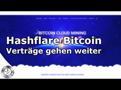 Bitcoin Mining geht weiter! Hashflare lässt die Verträge weiter laufen
