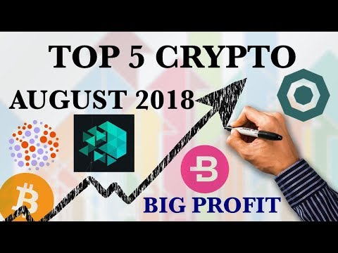 TOP 5 CRYPTO FOR AUGUST 2018 HINDI BIG PROFIT ALTCOINS CRYPTOCURRENCY