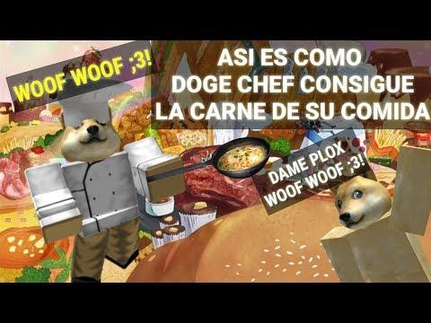 Asi es como DOGE chef consigue la carne de su comida | ROBLOX