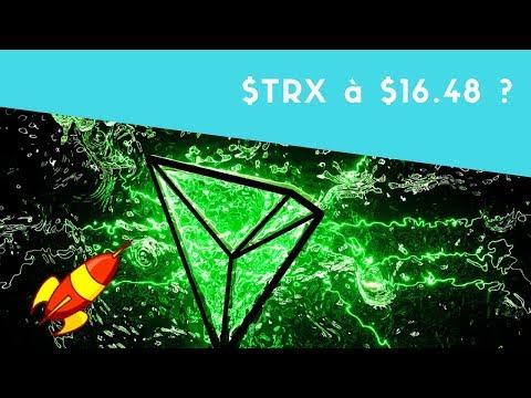 TRON ($TRX) à $16.48 après le crash ? TRON = meilleur Coin de l'année ?