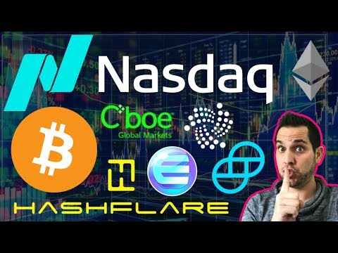 Secret NASDAQ Crypto Meeting | Winklevoss ETF Irrelevant ? HashFlare Back?!? $ENJ $IOTA