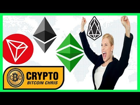Coinbase Custody shows ETC! – TRON iPhone X give away – EOS is #2! – Wall Street: Crypto Adoption!