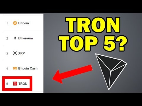 TRON (TRX) – NEW TOP 5 COIN?
