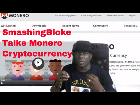SmashingBloke Talks Monero Cryptocurrency
