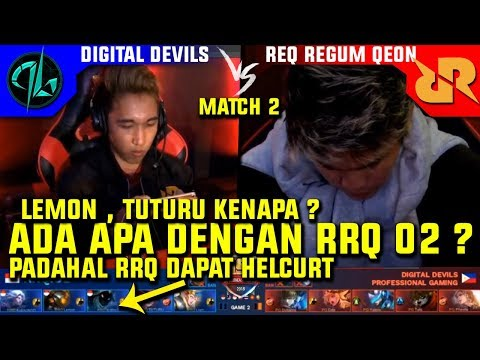 RRQ O2 VS DIGITAL DEVILS MATCH 2 GRAND FINAL MSC 2018 ADA APA DENGAN RRQ?