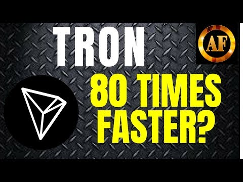 Tron (TRX) – 80 TIMES FASTER THAN ETHEREUM? – Largest Decentralized Ecosystem