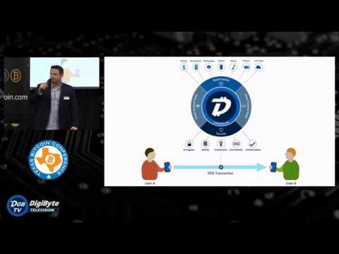 Jared Tate presents DigiByte at Texas Bitcoin Conference Oct 2017
