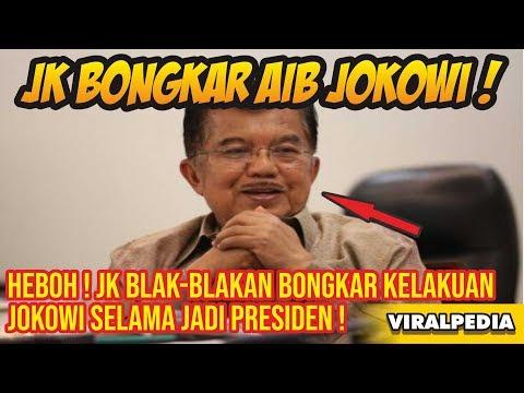 Heboh! Jusuf Kalla Blak Blakan Bongkar Kelakuan Jokowi Selama Jadi Presiden, Ada Apa Ini