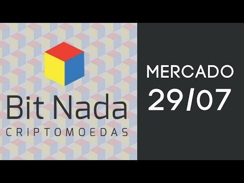 Mercado de Cripto! 29/07 Bitcoin / Mercado / EOS / DGB