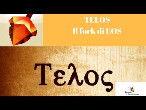 TELOS | Il fork di EOS