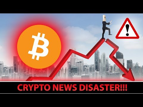 Cryptos FALL After VERY BAD NEWS!!! (FUD or NOT?)