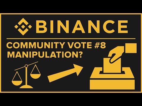 Binance Community Coin #8 Manipulation – Voting Abuse? Tx Analysis