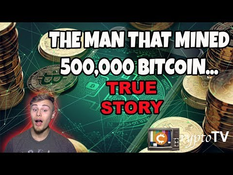 THE MAN THAT MINED 500,000 BITCOINS, then lost it all… Litecoin, Bitcoin, ETH, XRP – TA