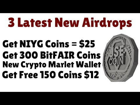 3 Airdrops | New Crypto Wallet Get Free Coins = $80 | Join Fast |
