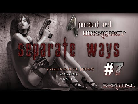 "Resident Evil 4 HD Project (Mod Remake) #7 Ada Wong ""Caminos separados"" – Directo Gameplay Español"