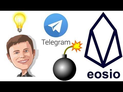 Dan Larimer dropping bombs in Telegram