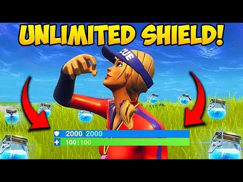 NEW *UNLIMITED SHIELDS* TRICK! – Fortnite Funny Fails and WTF Moments! #274