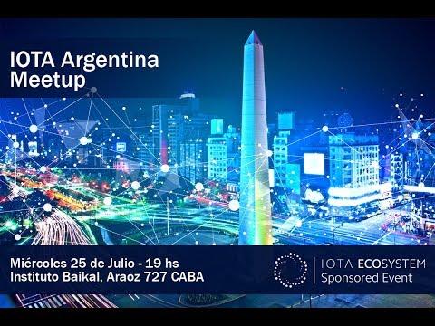 IOTA Argentina Meetup, July (Uncut)